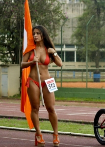 Luana Kisner - Flag Girl